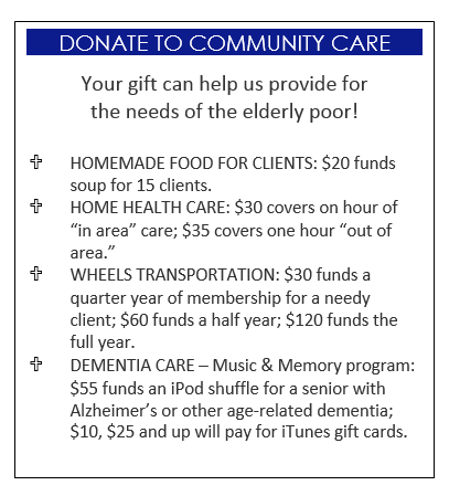 donate to community care new